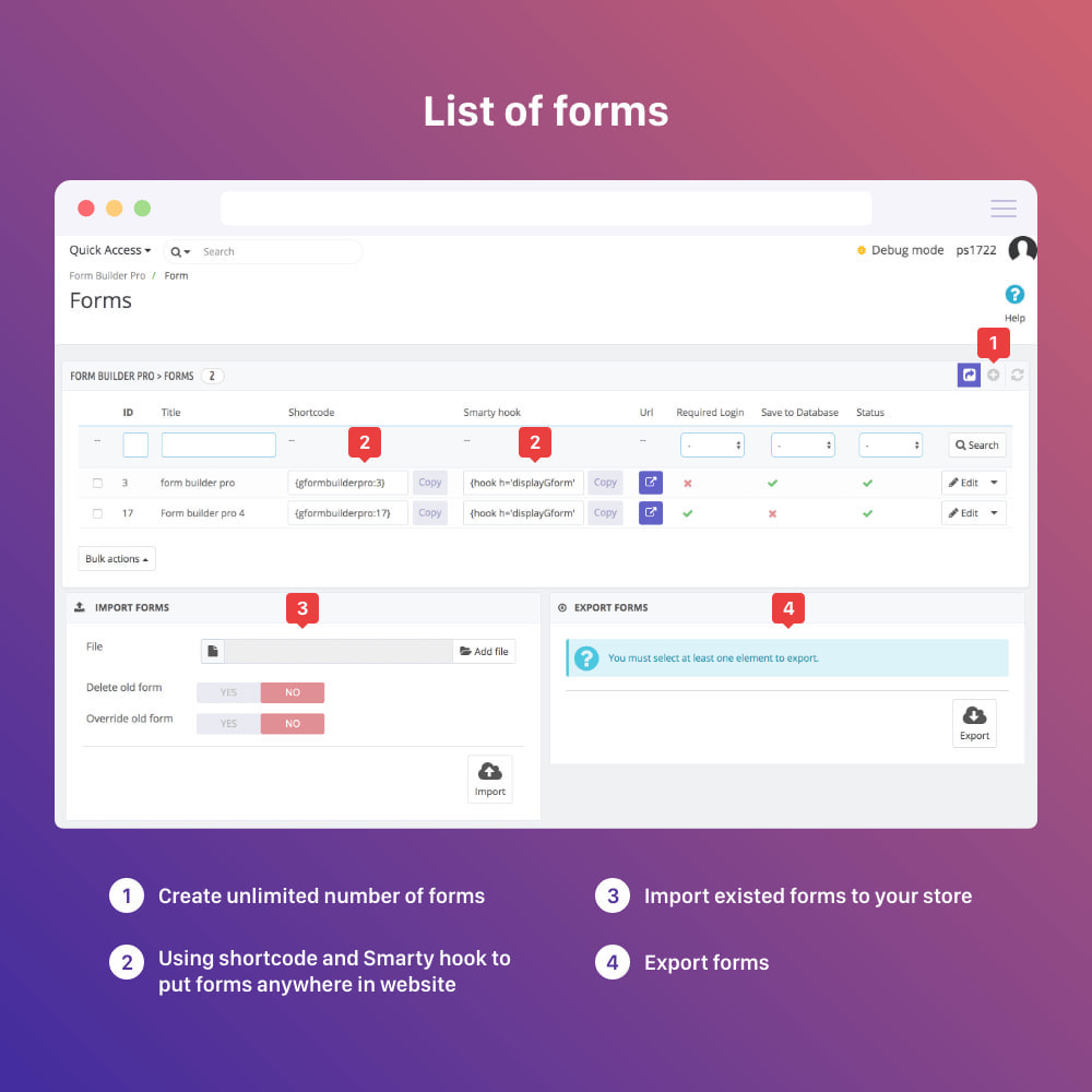 module - Форма обратной связи и Опросы - Form Builder - contact form, product, cms, quote Form - 6