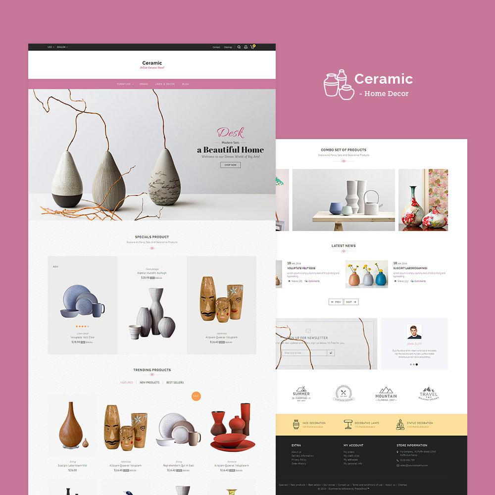 theme - Дом и сад - Ceramic Store - 2