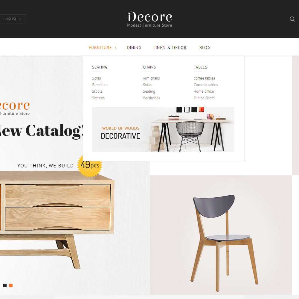 theme - Дом и сад - Decore - Modest Furniture Store - 6