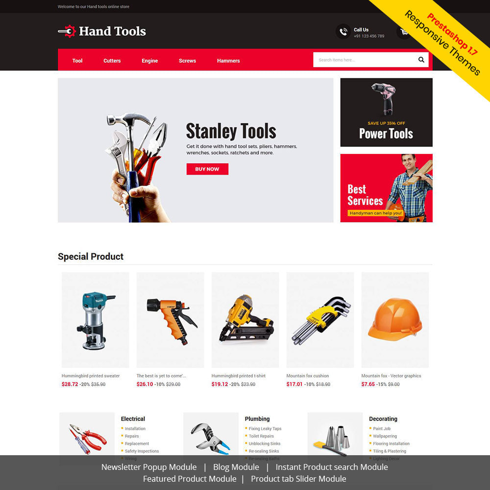 theme - Automotive & Cars - Hand Tools - Equipment Spare Part Store - 1