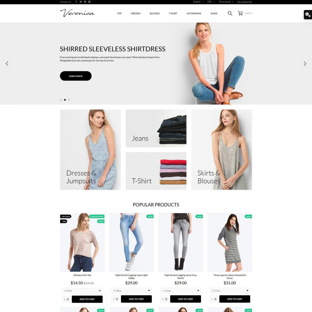 theme - Mode & Schoenen - Veronica Fashion Store - 11