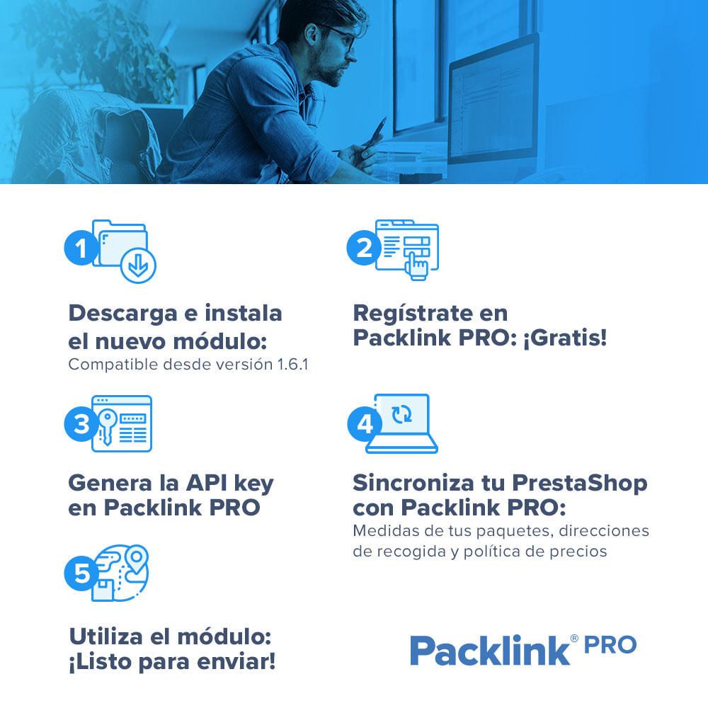 module - Gastos de transporte - de envíos Packlink PRO - 2