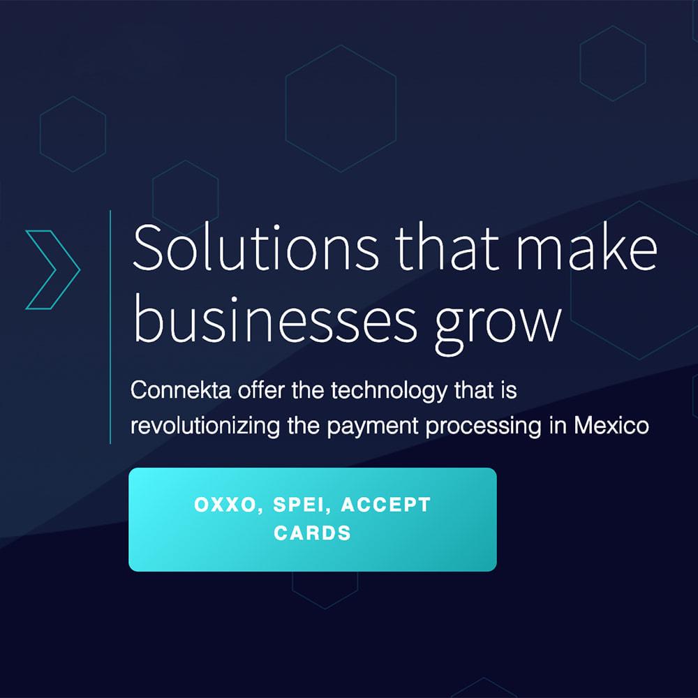 module - Other Payment Methods - Conekta payments: OXXO, SPEI, Credit and Debit cards - 1
