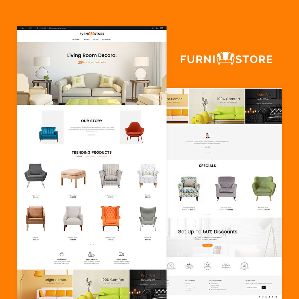 theme - Casa & Giardino - Furniture Store - 2