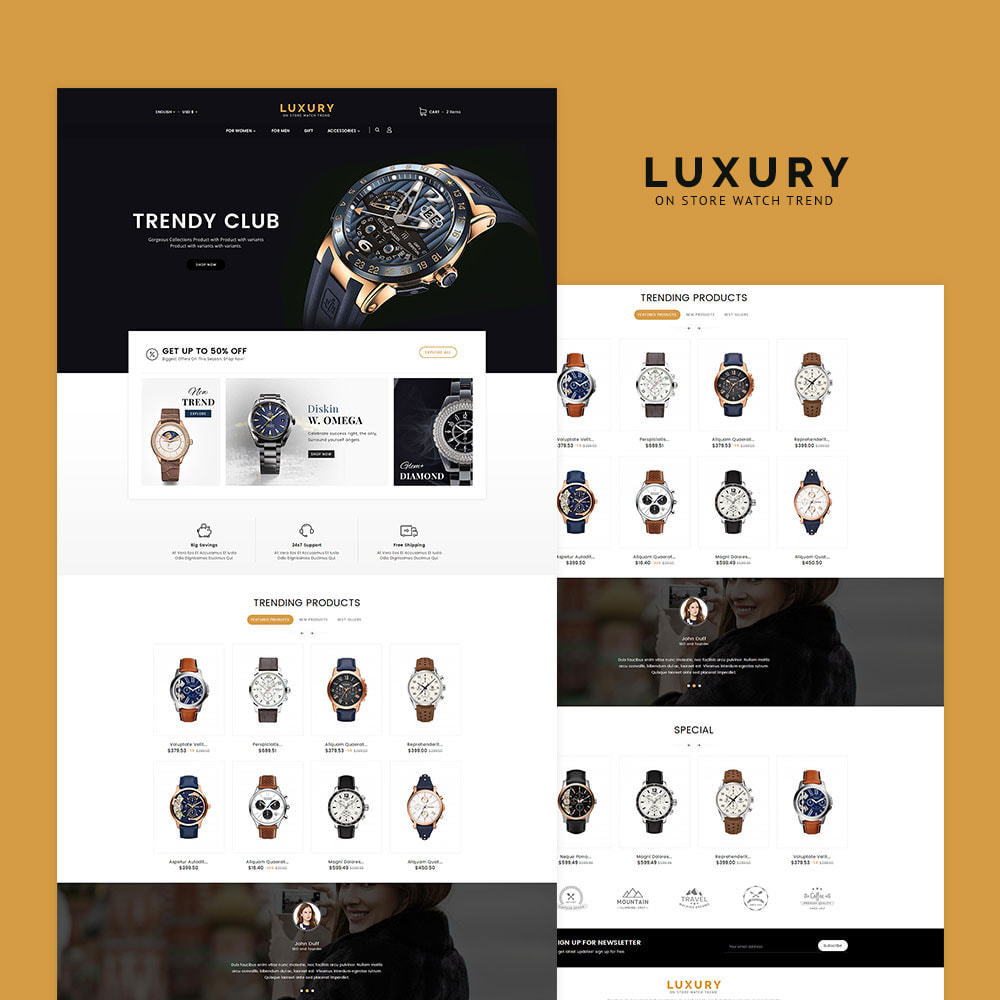 theme - Jewelry & Accessories - Luxury Watch Store - 2