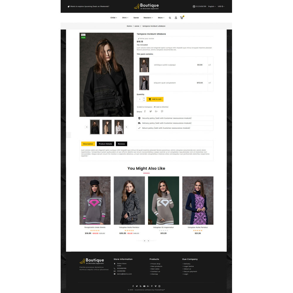 theme - Fashion & Shoes - Boutique Fashion Apparels - 5