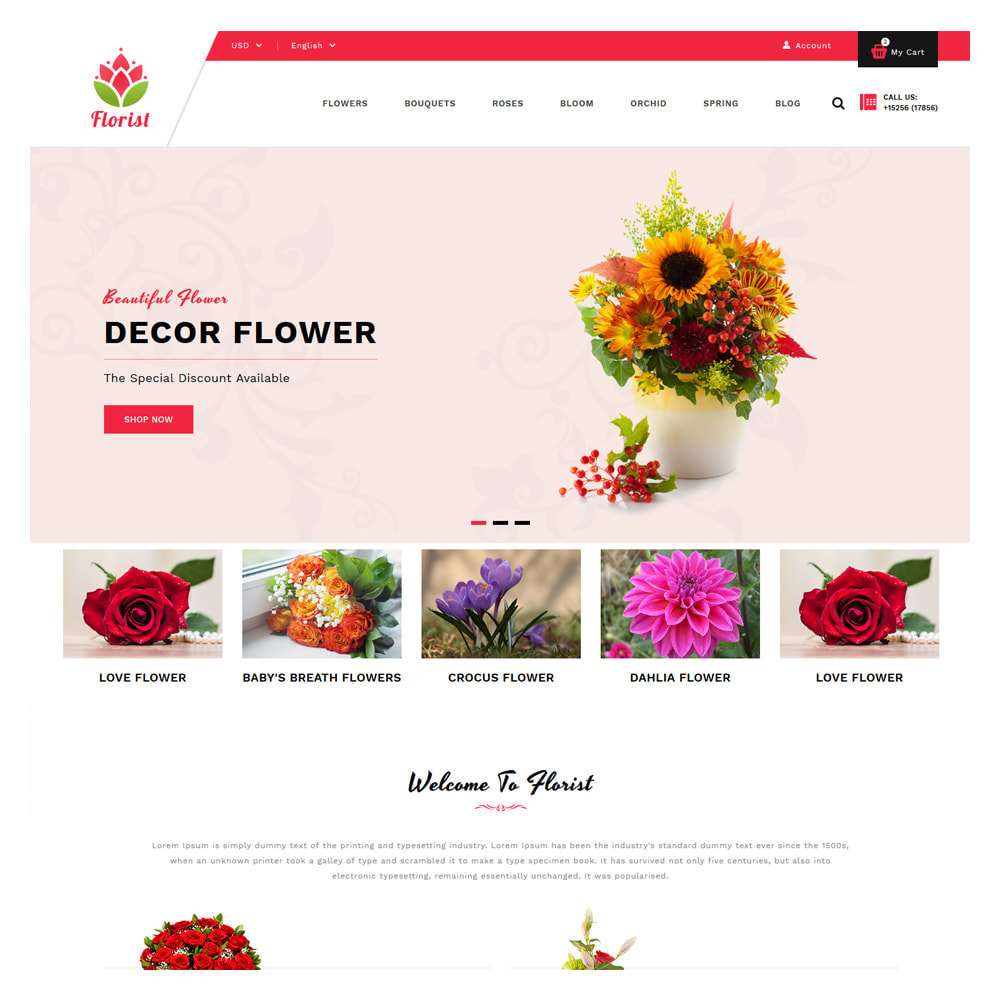 theme - Gifts, Flowers & Celebrations - Florist Flowers & Gifts Store - 2