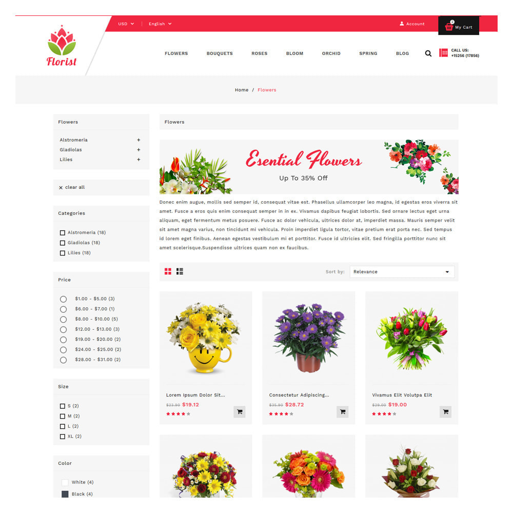 theme - Gifts, Flowers & Celebrations - Florist Flowers & Gifts Store - 3
