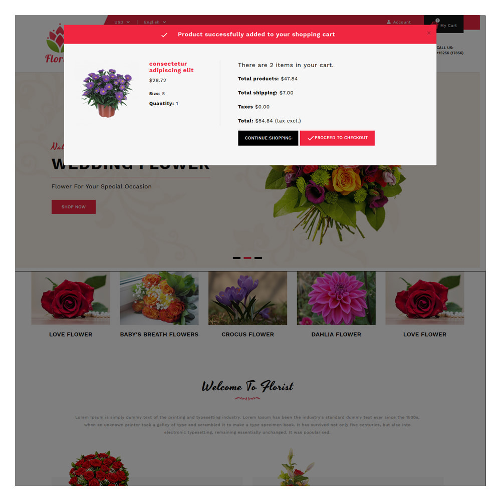 theme - Gifts, Flowers & Celebrations - Florist Flowers & Gifts Store - 6