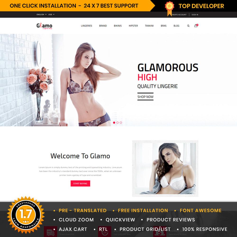 theme - Lingerie & Adult - Glamo Lingerie & Adult Store - 1