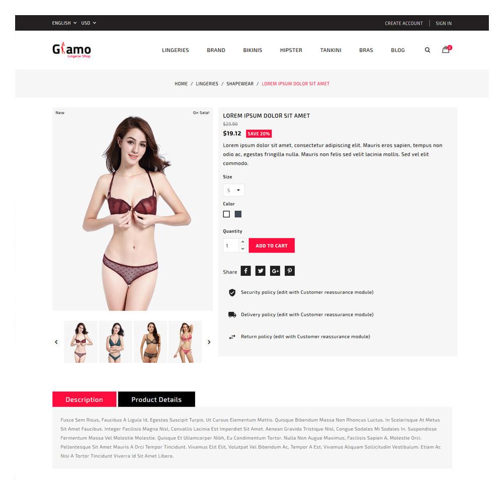 theme - Lingerie & Adult - Glamo Lingerie & Adult Store - 5