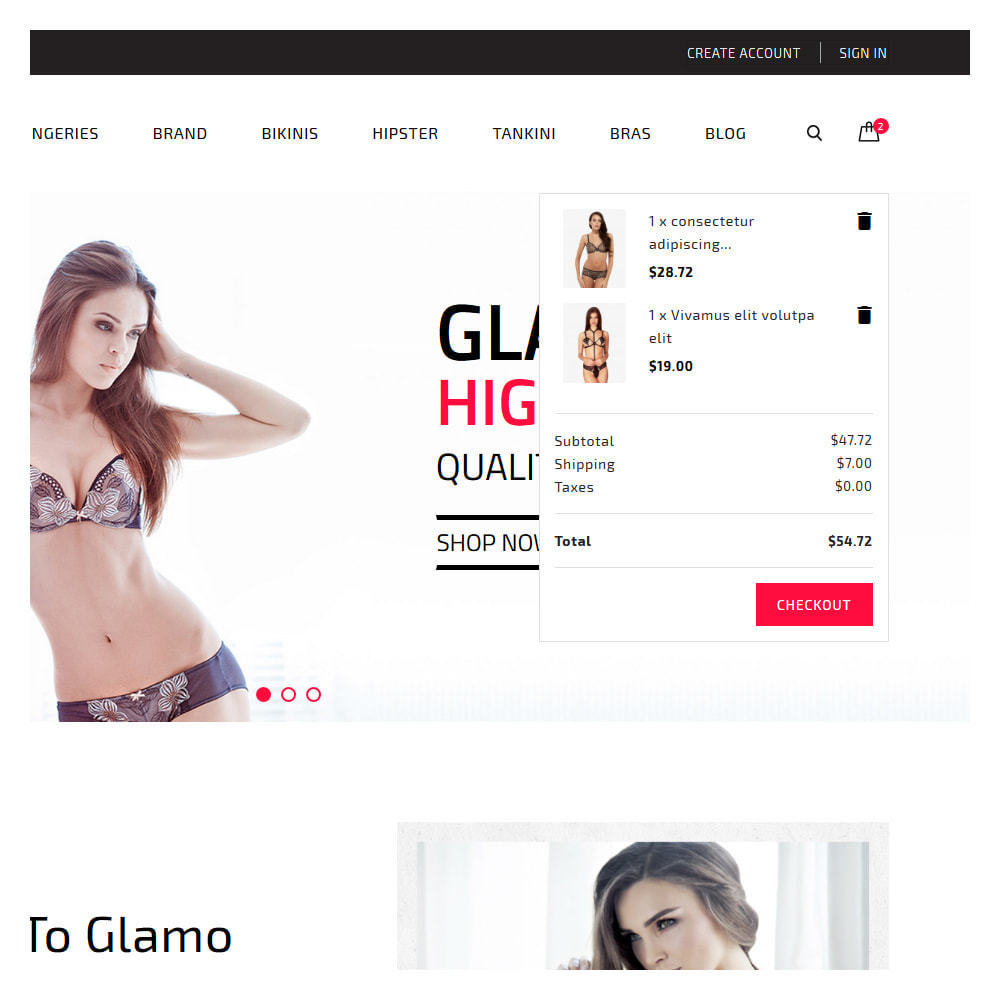 theme - Lingerie & Adult - Glamo Lingerie & Adult Store - 7