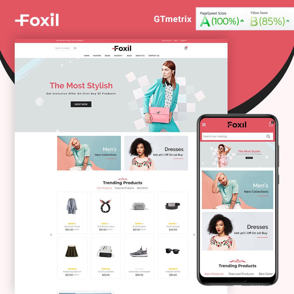 theme - Fashion & Shoes - Foxil Fashion Store - 1