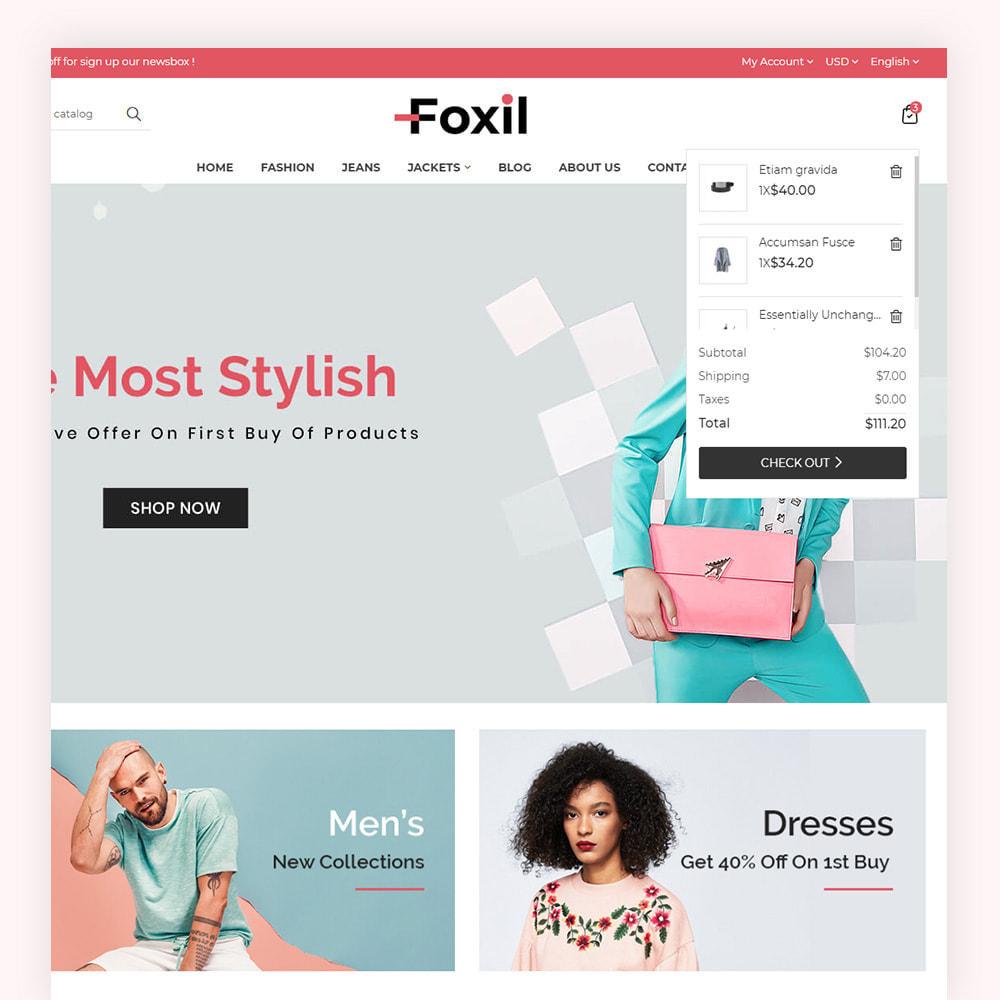 theme - Fashion & Shoes - Foxil Fashion Store - 4