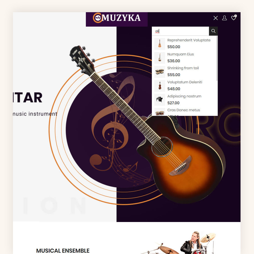 theme - Art & Culture - Muzyka Mugic Instruments Store - 3