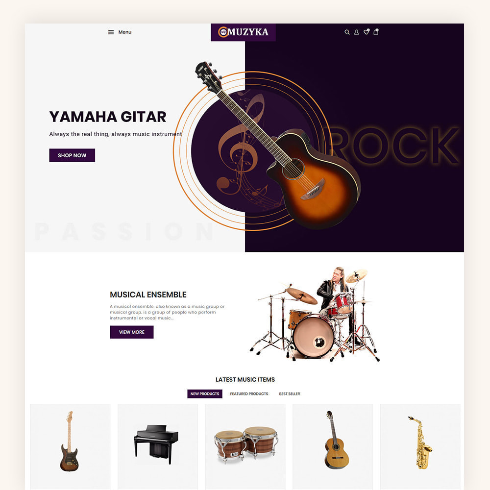 theme - Art & Culture - Muzyka Mugic Instruments Store - 3
