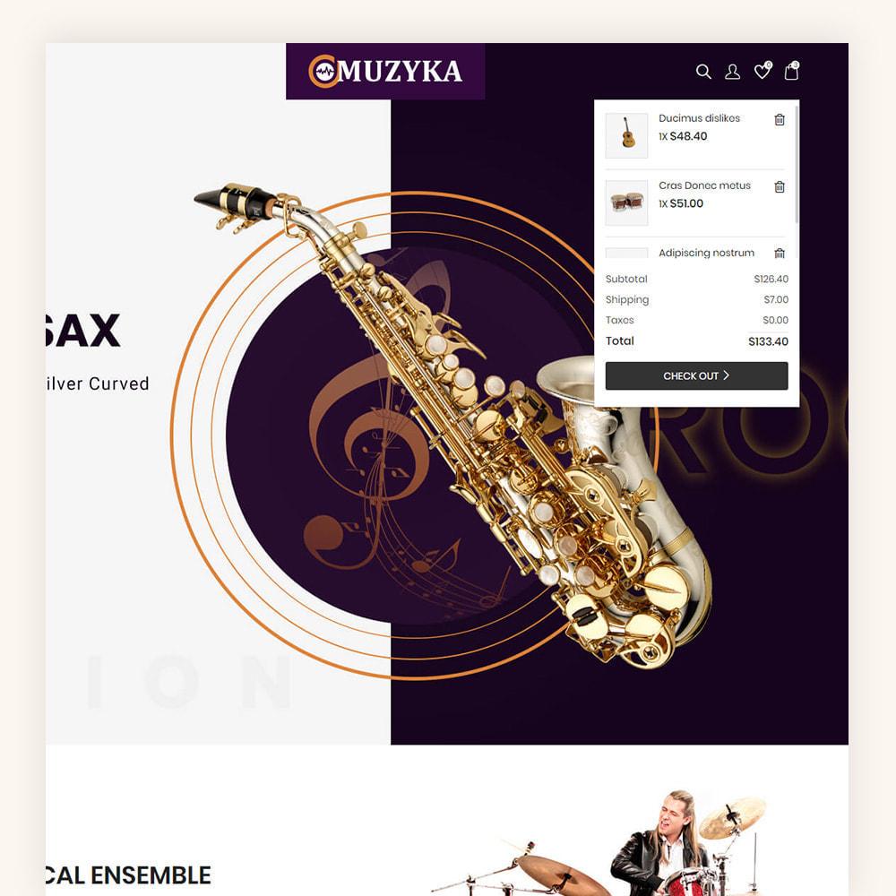 theme - Art & Culture - Muzyka Mugic Instruments Store - 5