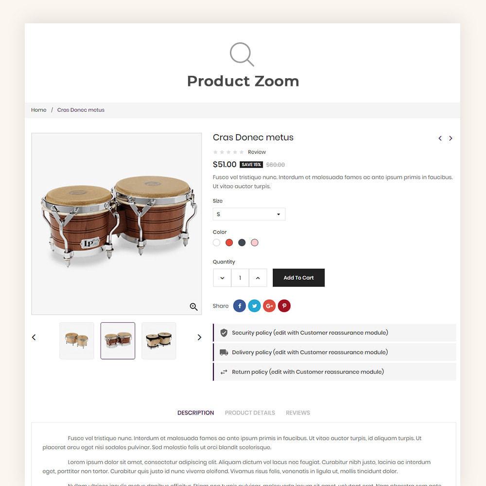 theme - Art & Culture - Muzyka Mugic Instruments Store - 9
