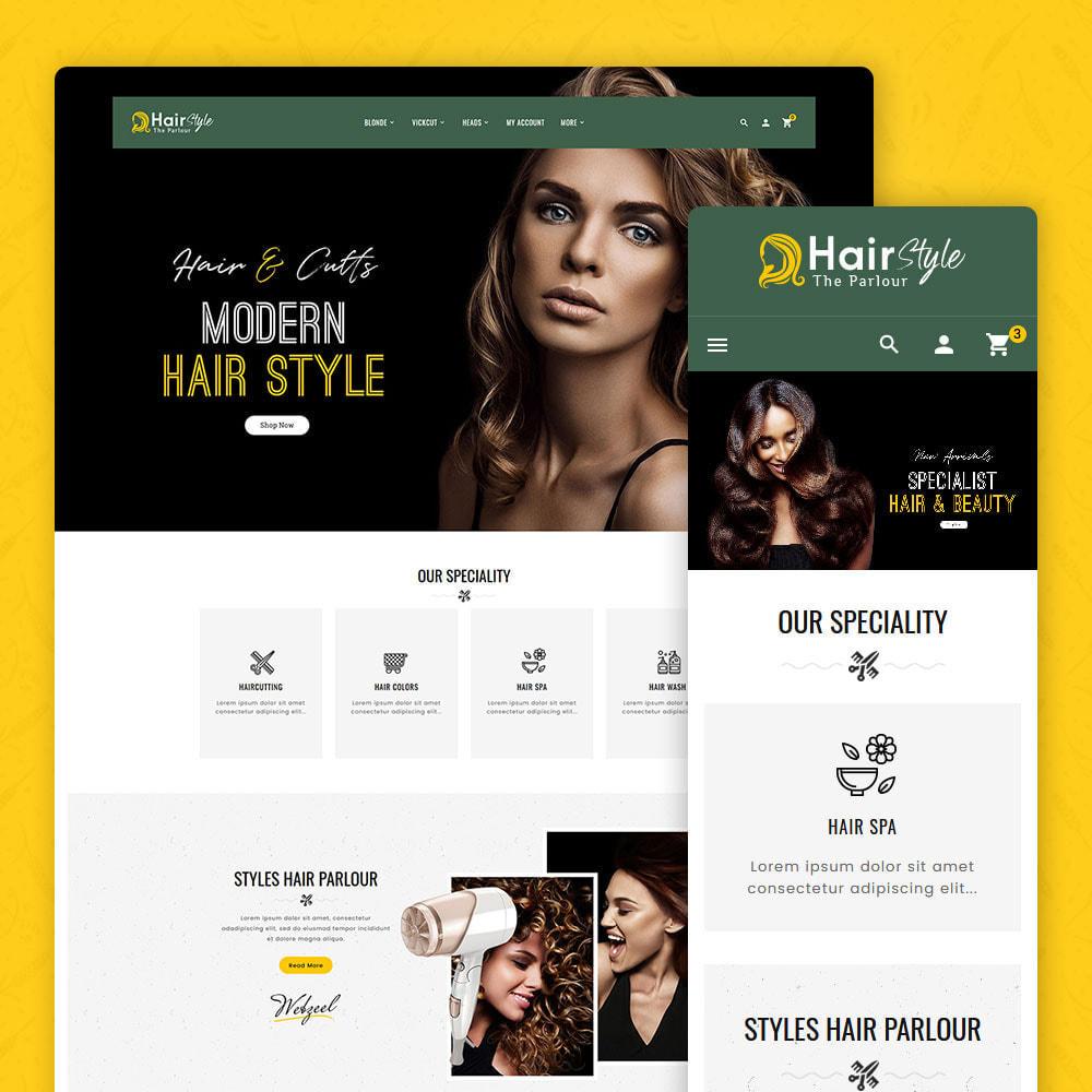 theme - Health & Beauty - Hair Style - Salon & Cutts - 1