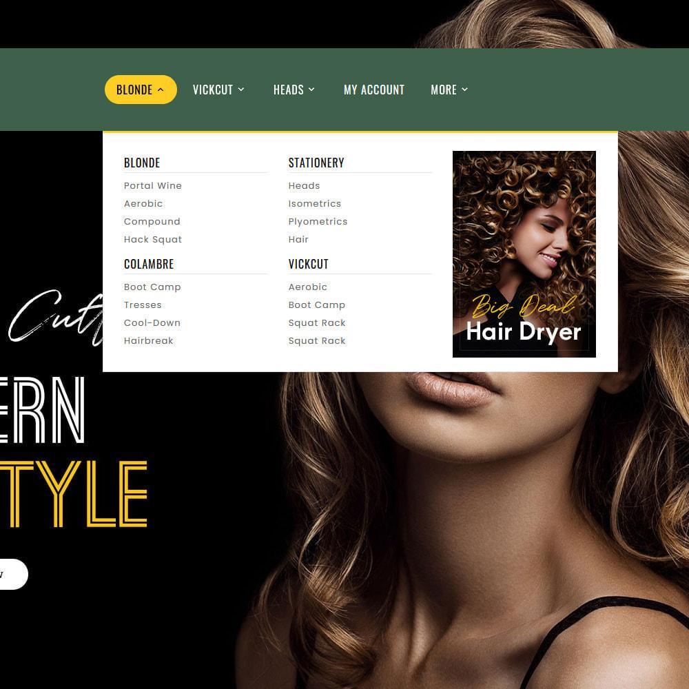 theme - Health & Beauty - Hair Style - Salon & Cutts - 9