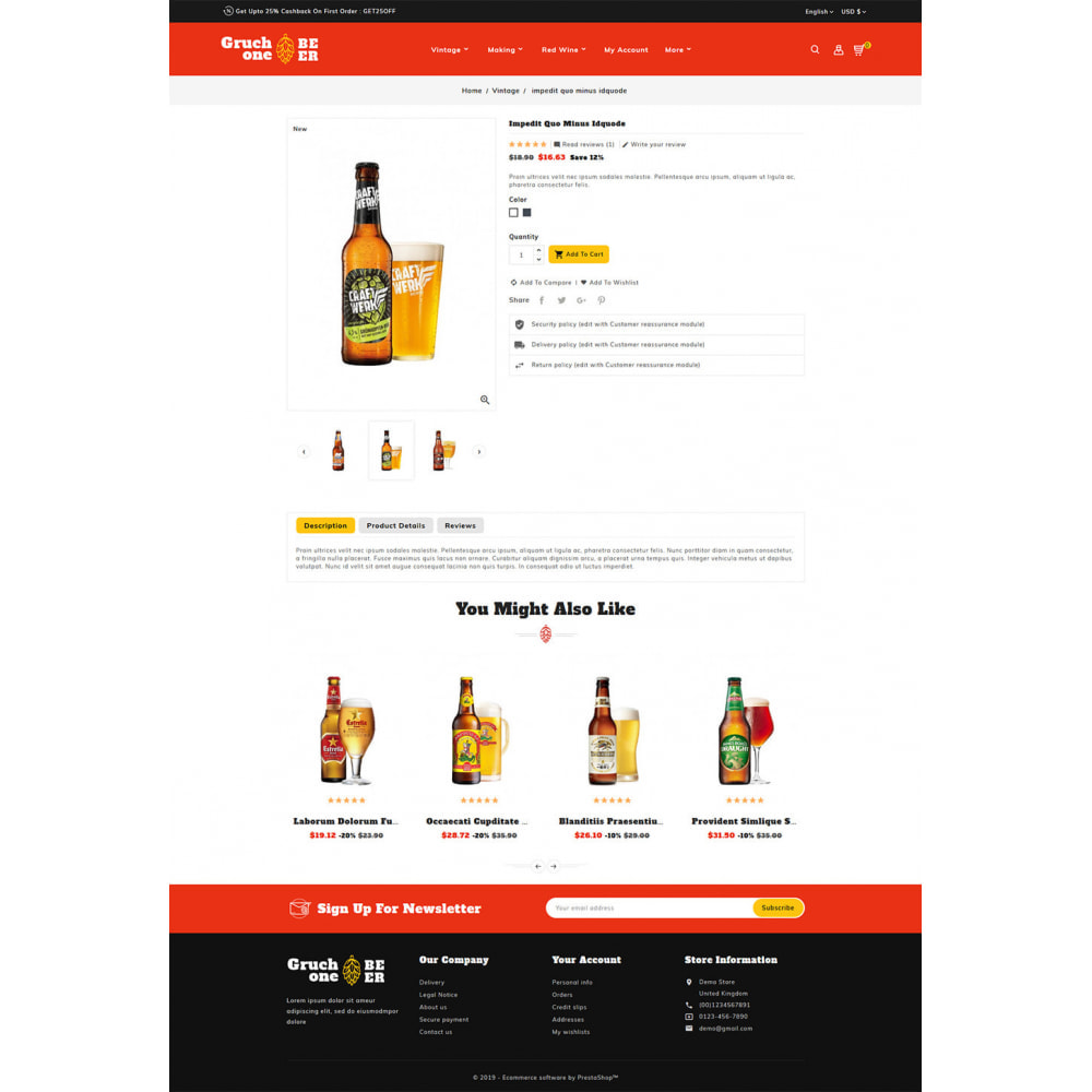 theme - Drink & Wine - Gruchone Beer & Wine Store - 5