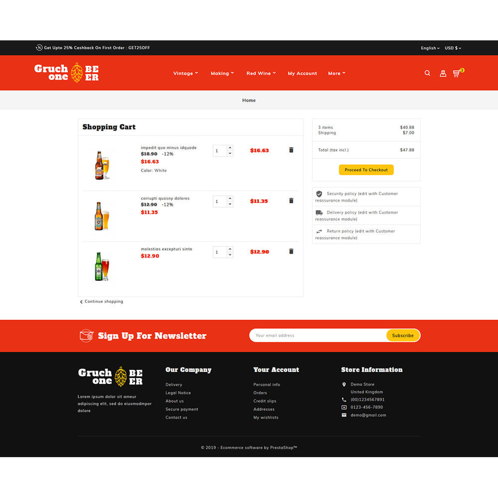 theme - Drink & Wine - Gruchone Beer & Wine Store - 6