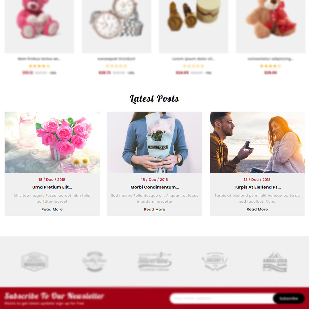 theme - Gifts, Flowers & Celebrations - Giftvilla Gift Shop - 5