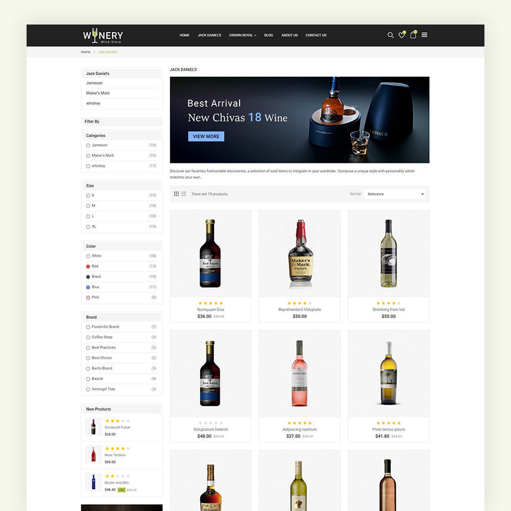 theme - Drink & Tobacco - Winery Wine Store - 5