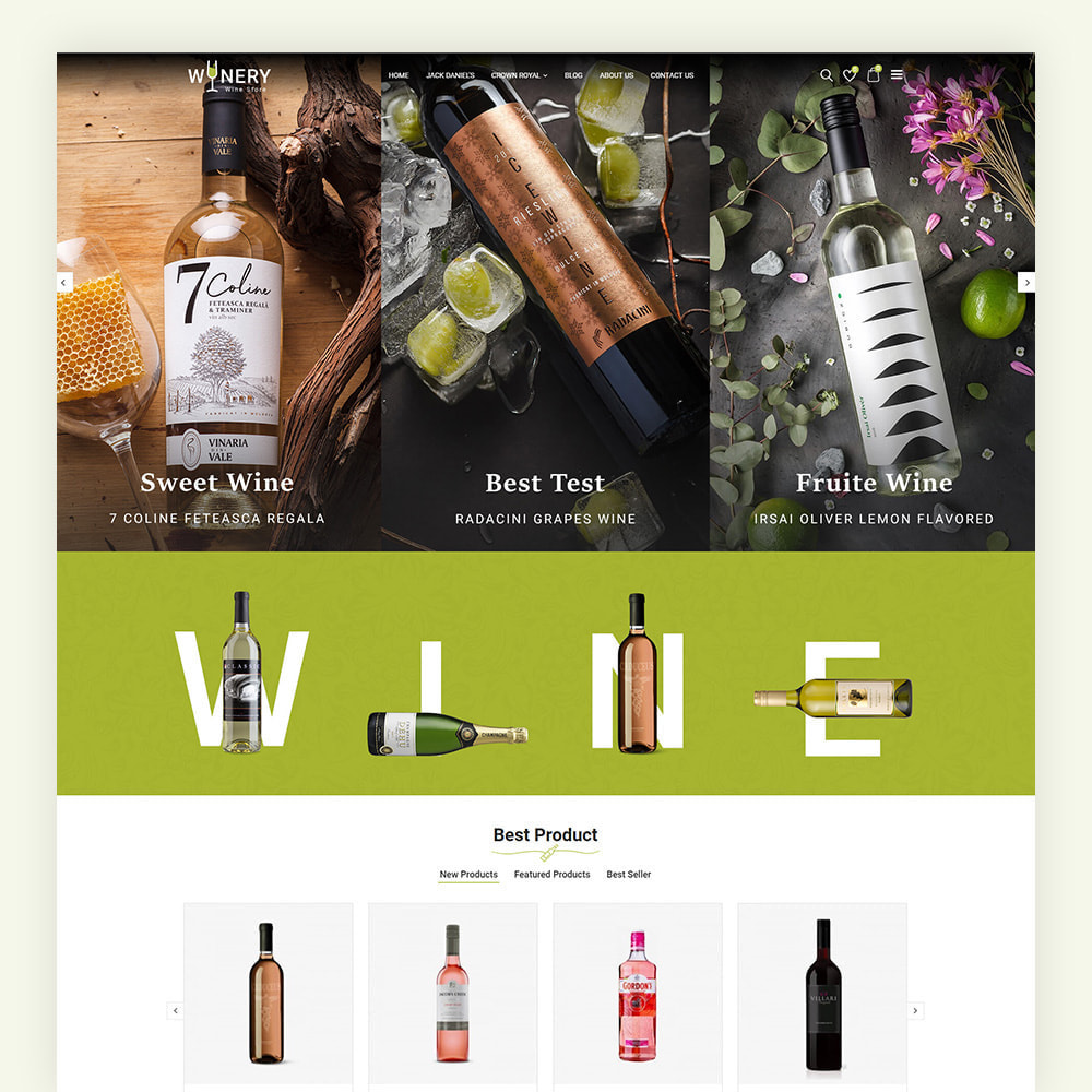 theme - Boissons & Tabac - Winery Wine Store - 3