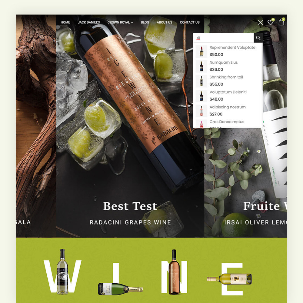 theme - Boissons & Tabac - Winery Wine Store - 4