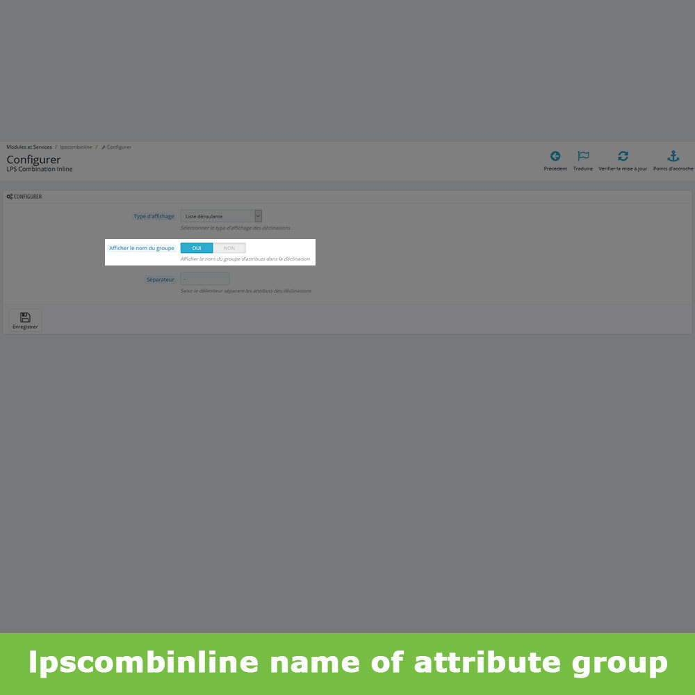 module - Deklinacje & Personalizacja produktów - Attribute groups product combinations (like Amazon) - 10