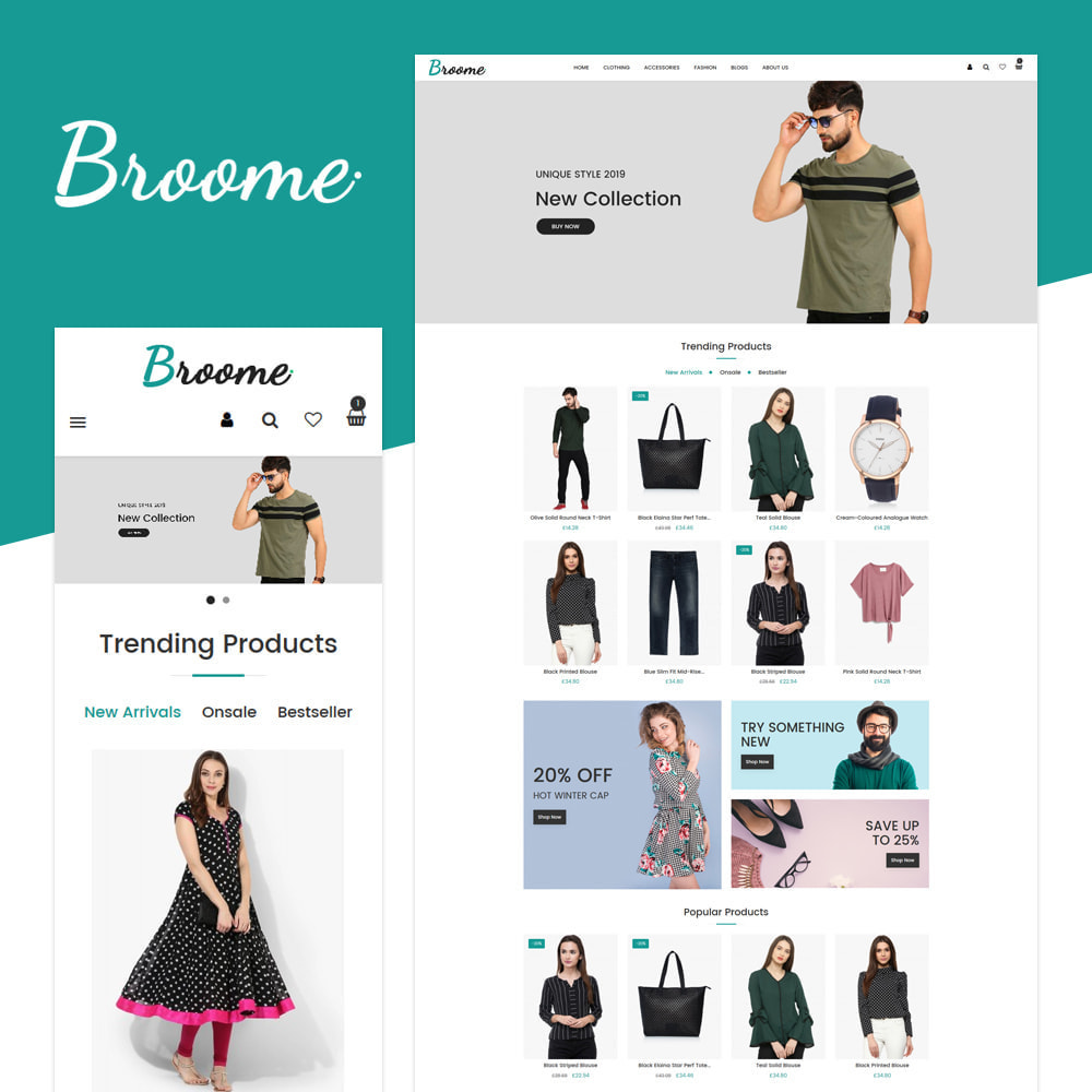 theme - Fashion & Shoes - Broome - Fashion Store - 1