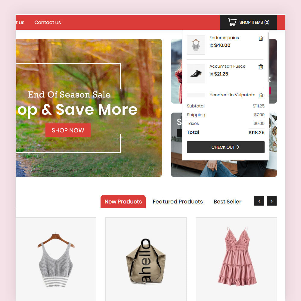 theme - Mode & Chaussures - Vonson Fashion Store - 4