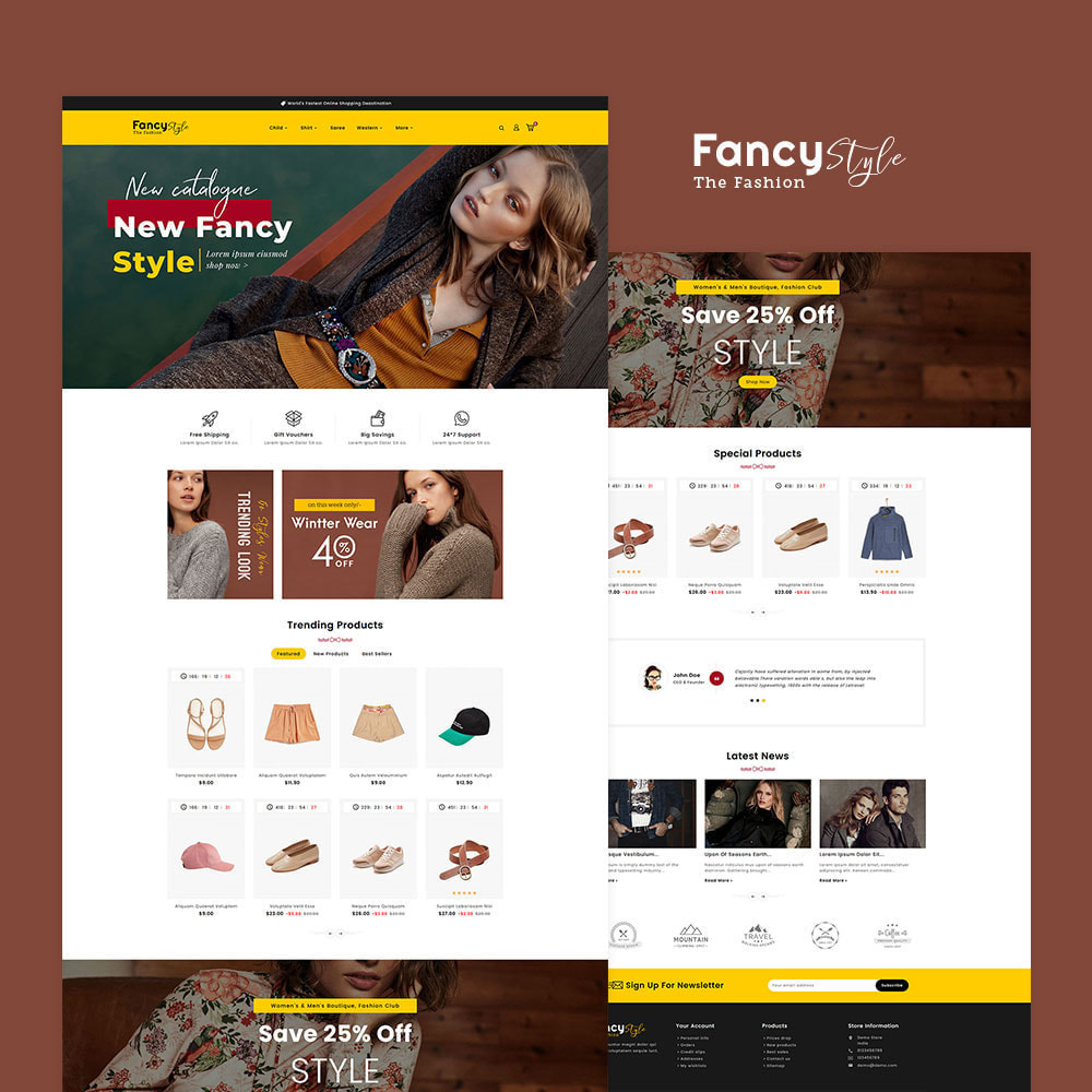 theme - Mode & Schuhe - Fancy Style - Fashion Apparels - 2