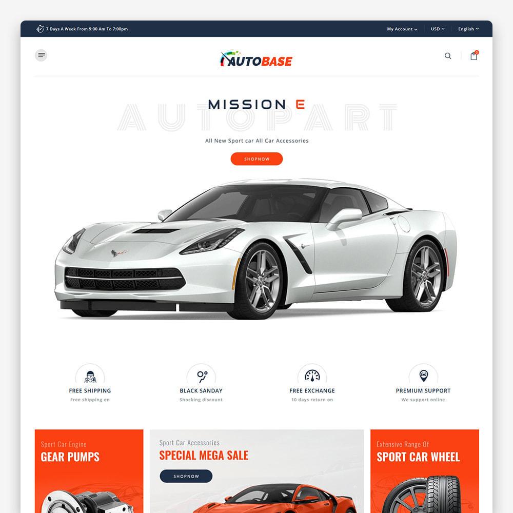 theme - Auto's & Motoren - Autobase - Auto Parts & Tools - 4