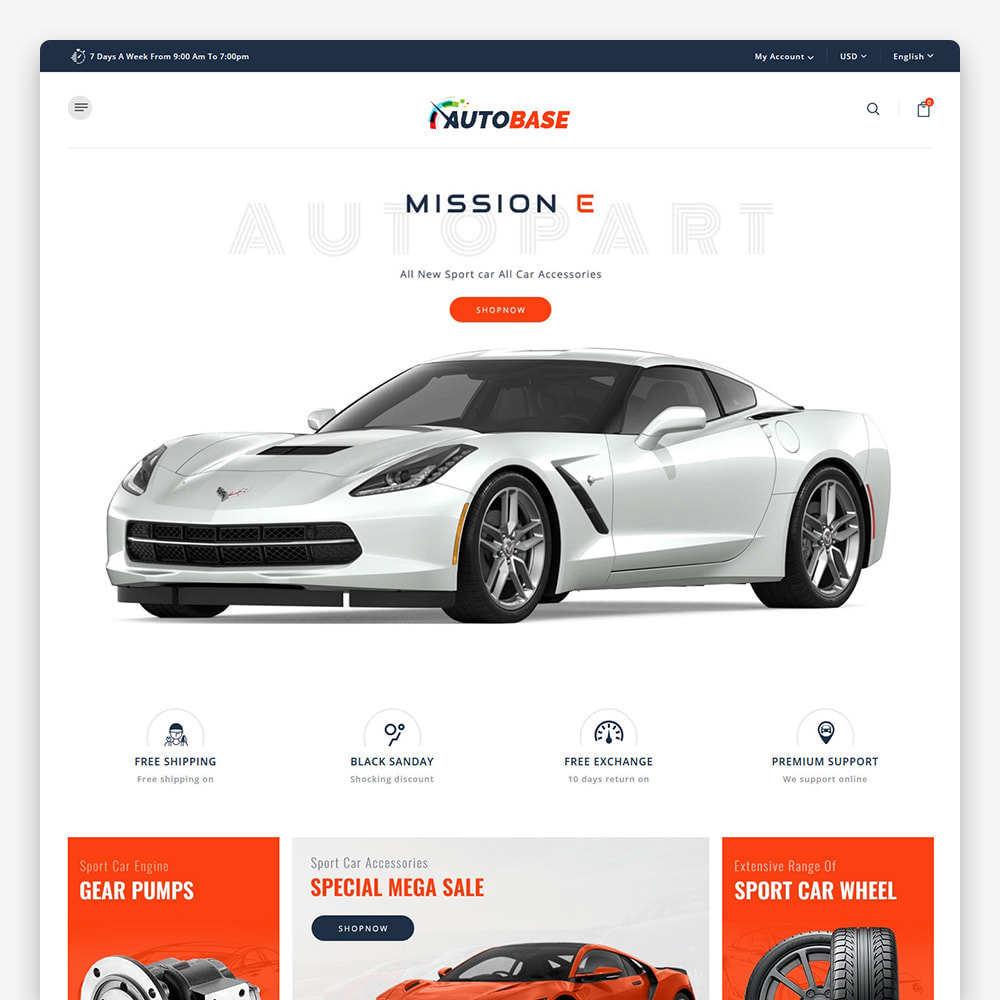 theme - Carros & Motos - Autobase - The Sport Base - 5