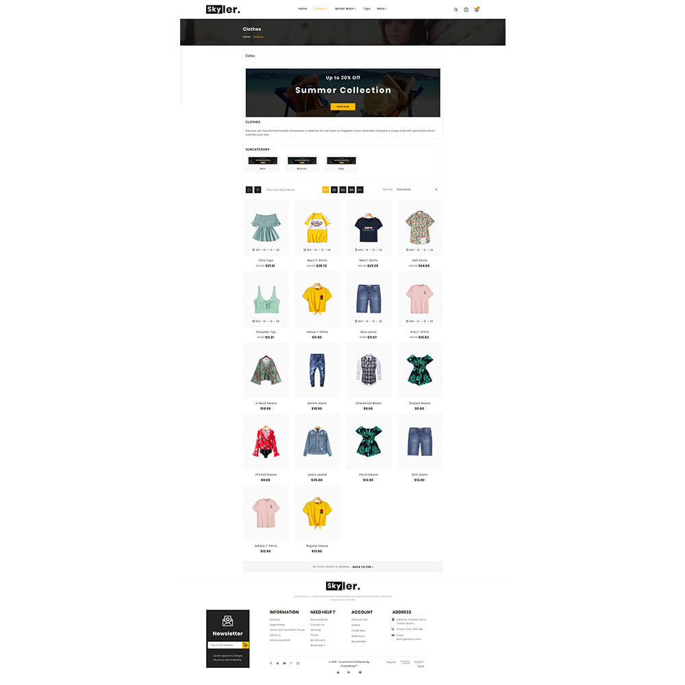 theme - Fashion & Shoes - Skyler Fashion Responsive Premium Store - 3
