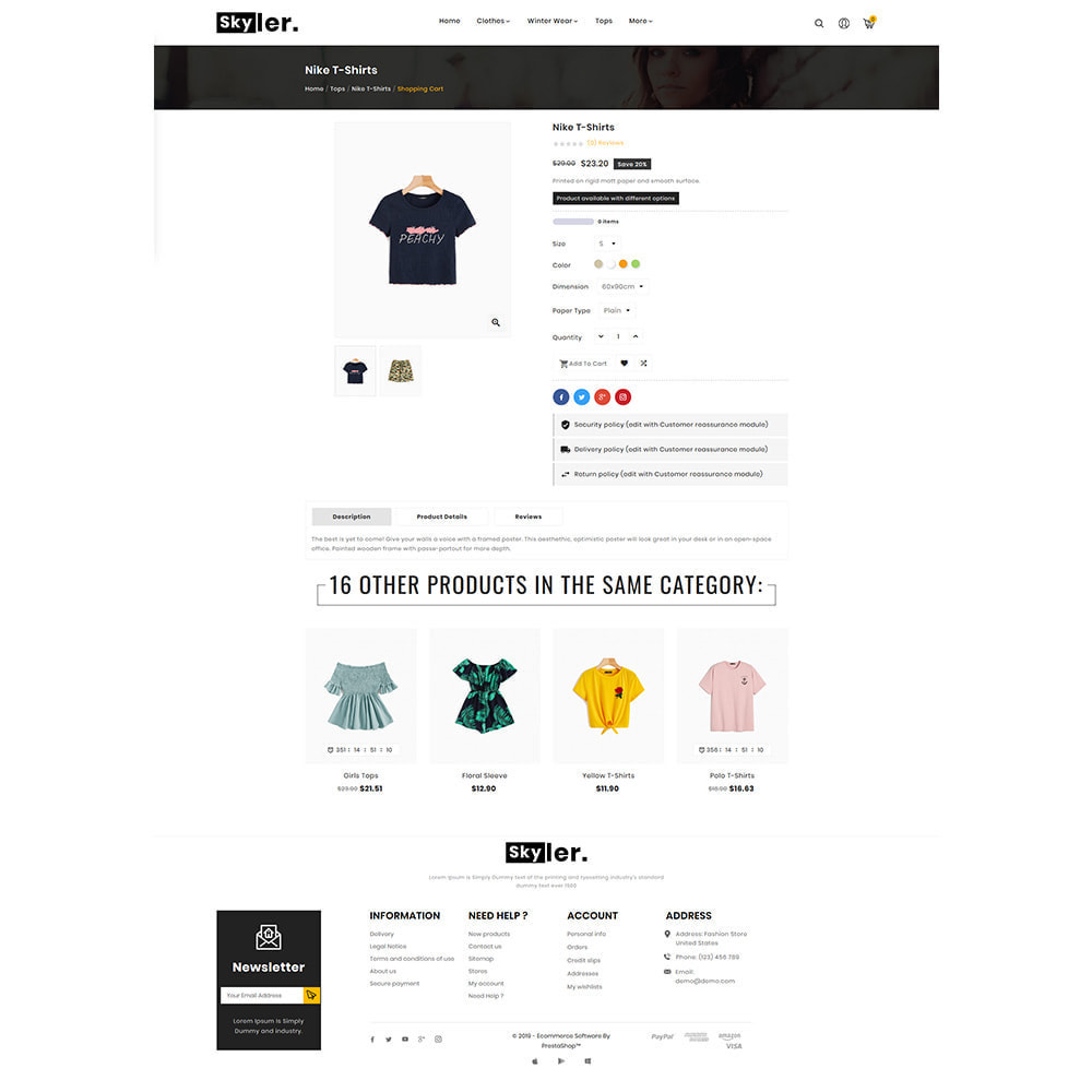 theme - Fashion & Shoes - Skyler Fashion Responsive Premium Store - 4