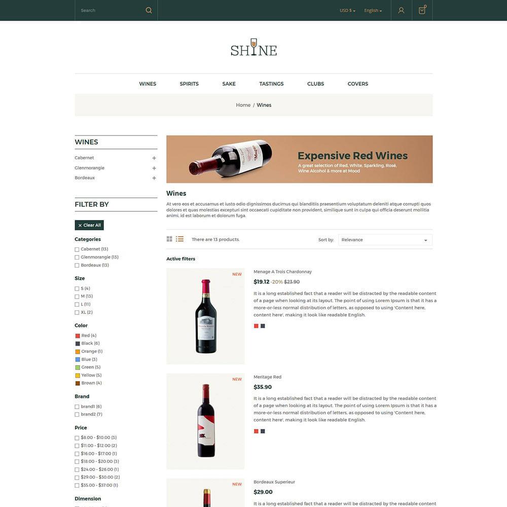 theme - Drink & Tobacco - Shine Wine - Alcohol Store - 4