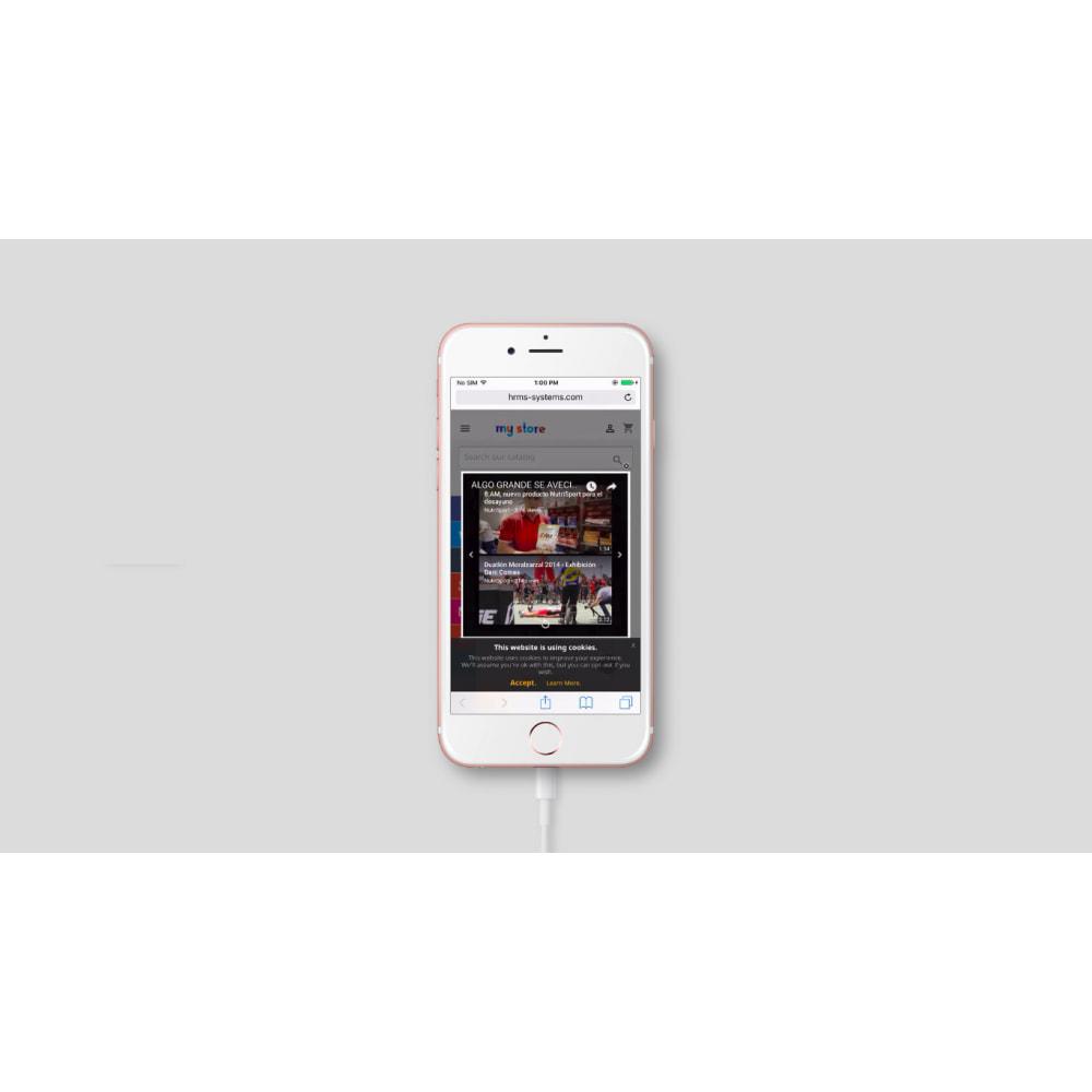 module - Видеоролики и Музыка - Всплывающее видео на YouTube - 5