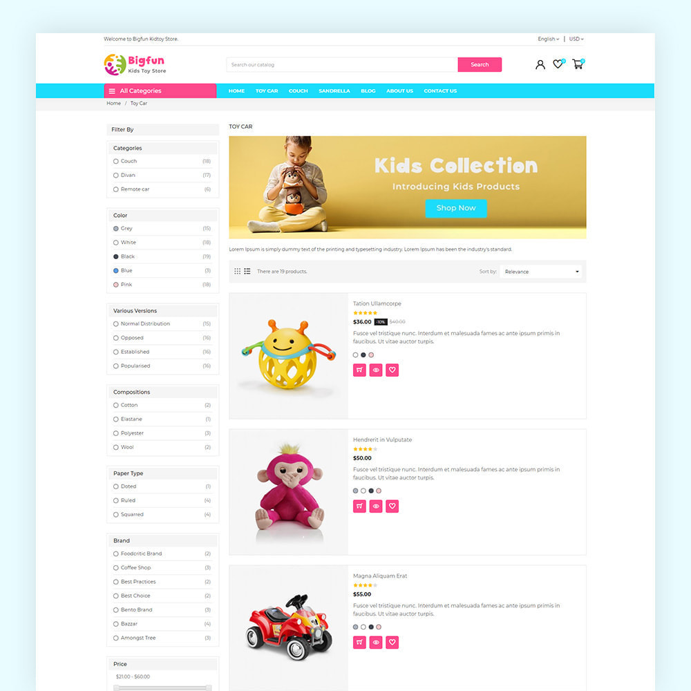 theme - Kinder & Spielzeug - Bigfun Kids Toy Store - 6