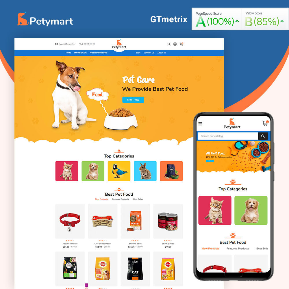 theme - Animals & Pets - Petymart Pet Store - 1