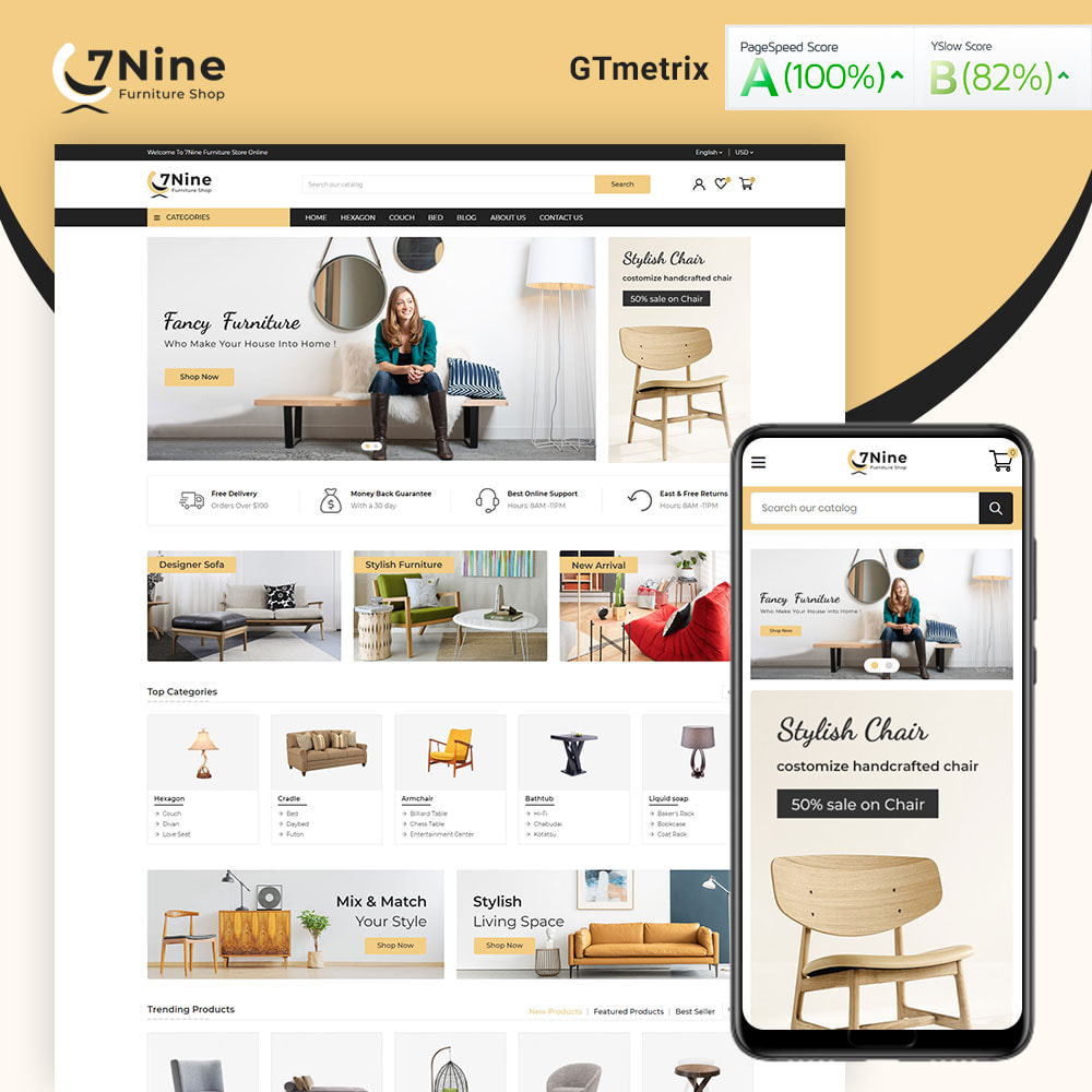 theme - Maison & Jardin - 7Nine Furniture Mega Store - 2