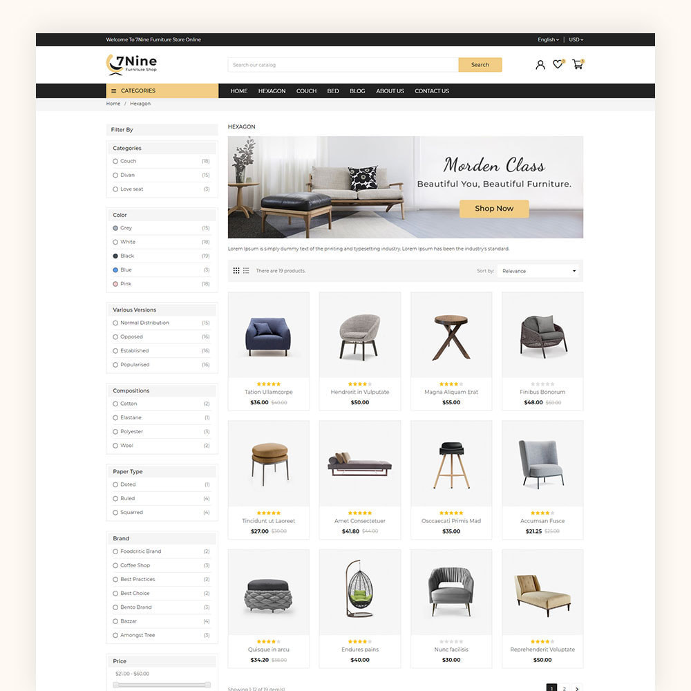 theme - Maison & Jardin - 7Nine Furniture Mega Store - 6