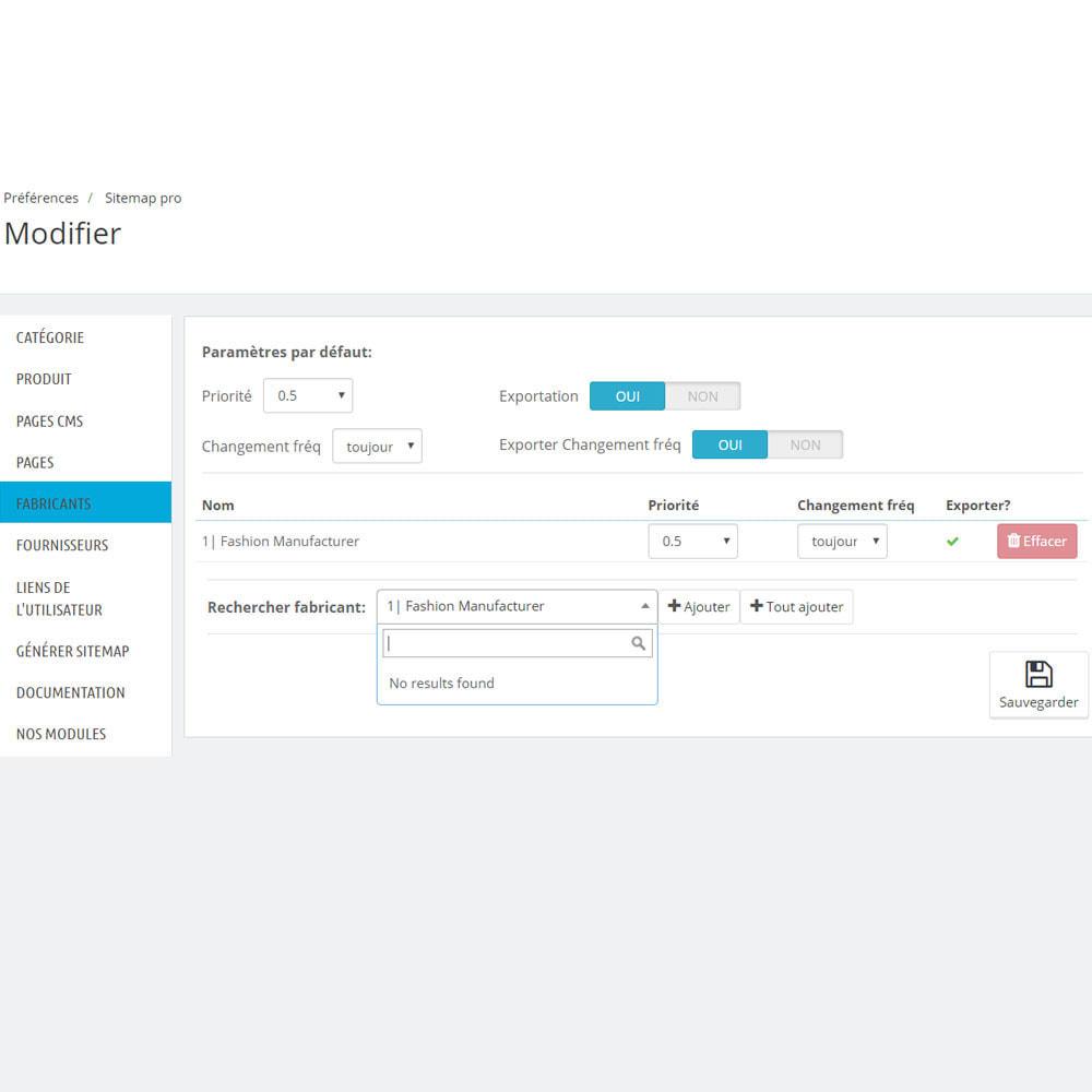 module - SEO (référencement naturel) - Sitemap xml pro - 7