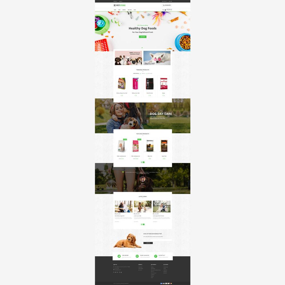 theme - Animali - PetStore - Responsive Store - 2