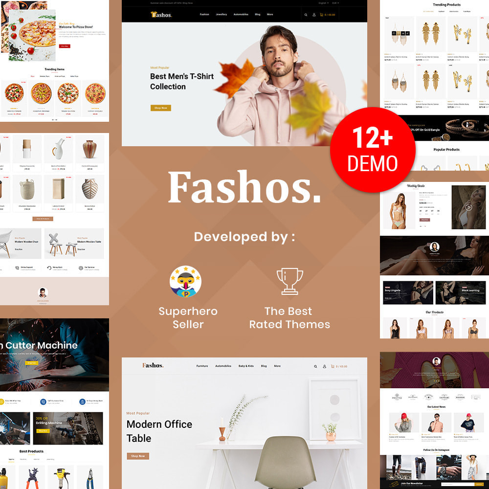 theme - Jewelry & Accessories - Fashos - Multipurpose Store - 1