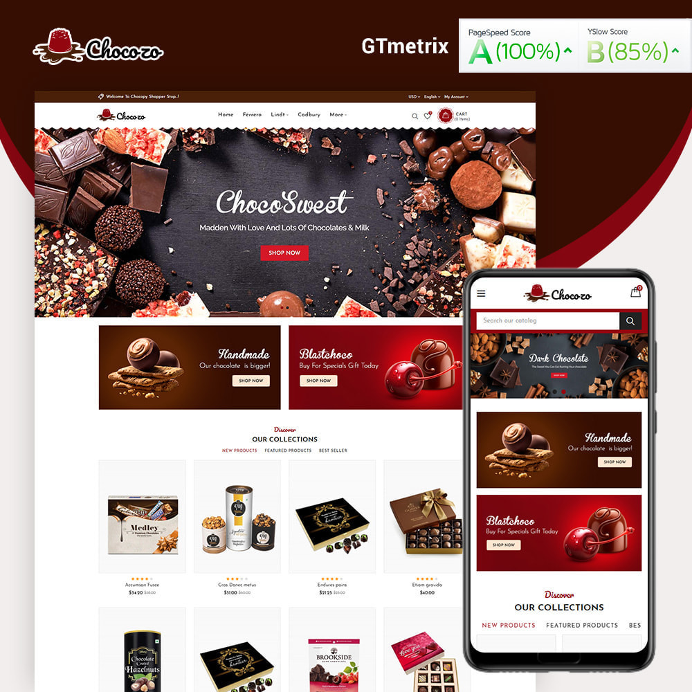 theme - Gifts, Flowers & Celebrations - Chocozo Chocolates Store - 1