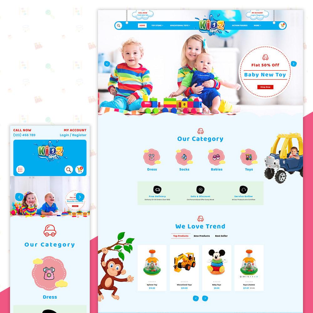 theme - Zabawki & Artykuły dziecięce - Kidz Baby–Toys Children–Kids Store - 1