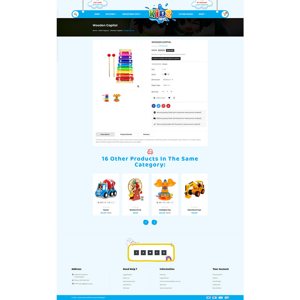 theme - Zabawki & Artykuły dziecięce - Kidz Baby–Toys Children–Kids Store - 4